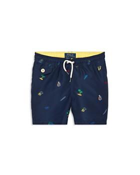Ralph Lauren - Boys' Traveler Print Swim Trunks - Little Kid