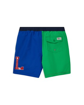846b9f94c ... Ralph Lauren - Boys' Color-Blocked Traveler Swim Trunks - Big Kid