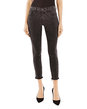 J Brand 835 Mid Rise Crop Skinny Jeans in Fame