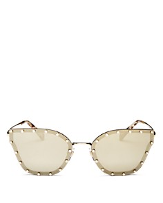 Valentino - Women's Mirrored Butterfly Sunglasses, 59mm