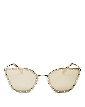 Valentino Women\\\'s Mirrored Butterfly Sunglasses, 59mm-Jewelry & Accessories