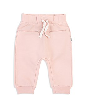 Miles Baby - Girls' Drawstring Jogger Pants - Baby