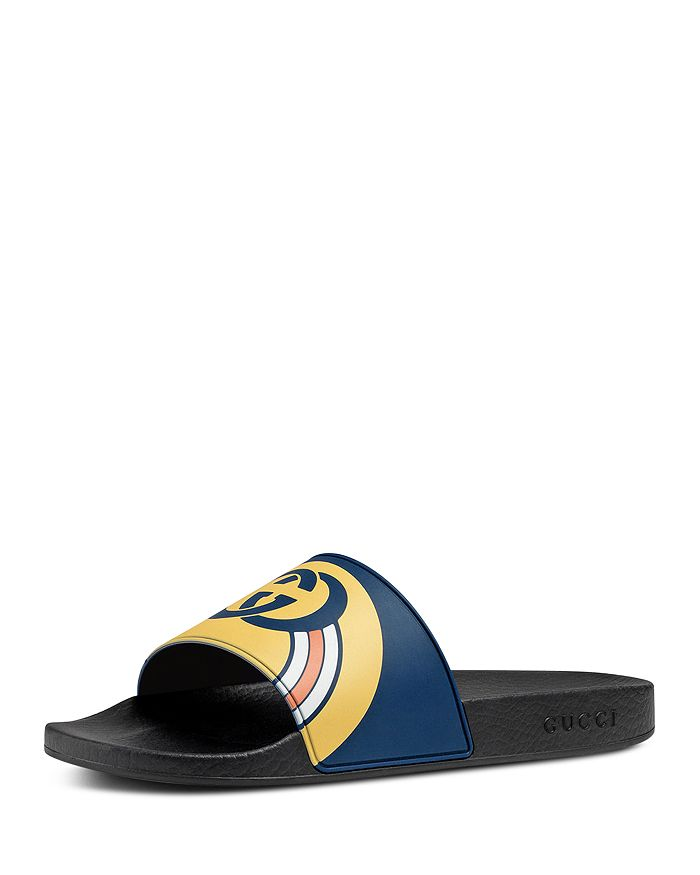 Gucci - Men's Logo Slide Sandals