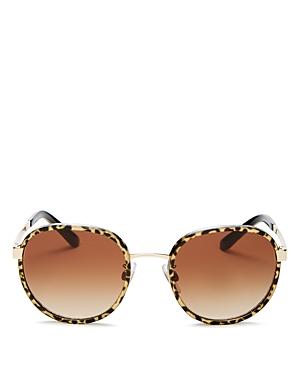 Dolce & Gabbana Women's Round Sunglasses, 52mm