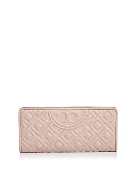 e1196aa477d Tory Burch - Fleming Slim Quilted Leather Wallet ...