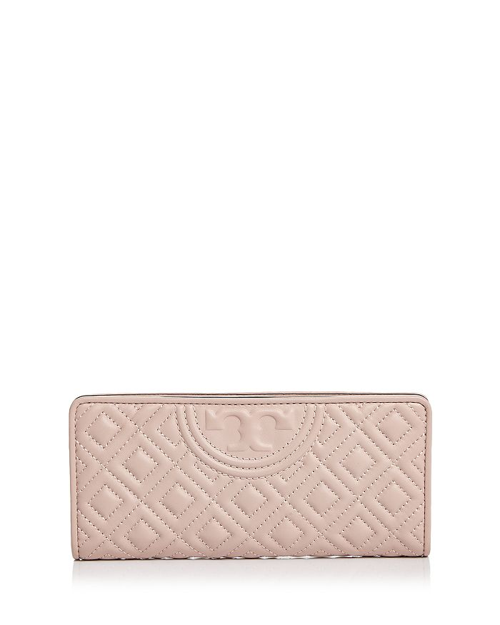 f8a760093318 Tory Burch Fleming Slim Quilted Leather Wallet | Bloomingdale's