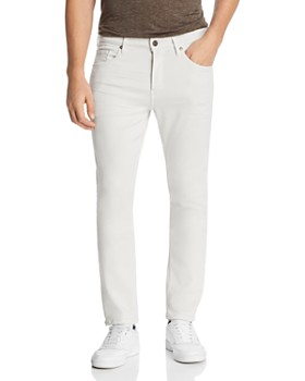 PAIGE - Lennox Slim Fit Jeans in Coconut Milk