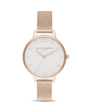 Olivia Burton White Dial Watch, 34mm
