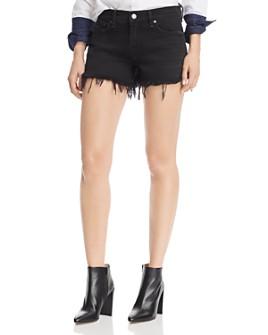 Hudson - Gemma Cut-Off Denim Shorts in Blitz