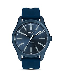 HUGO - #RISE Blue Dial Watch, 44mm