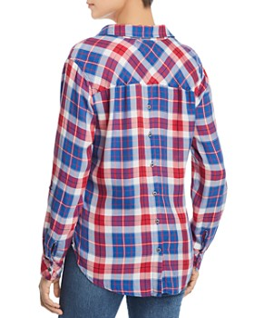 4954b59b531 ... Billy T - Plaid Button Down Top