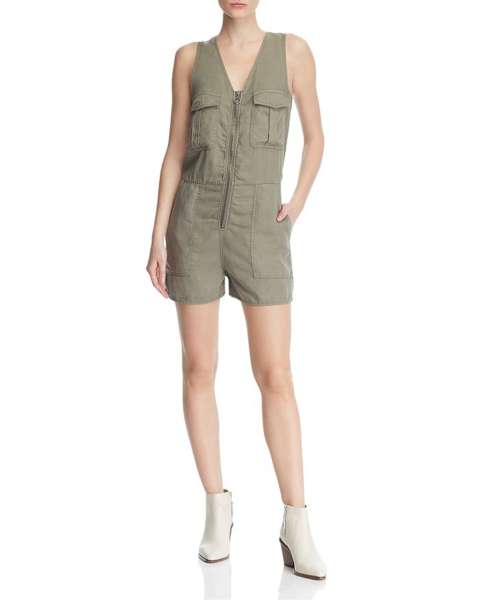 DL1961 - Pioneer Cargo Chambray Romper