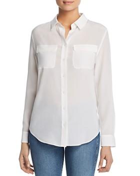 Relative Pi - Silk Flap-Pocket Shirt