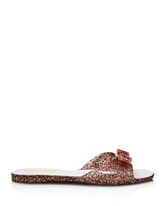 Salvatore Ferragamo - Women's Cirella Glitter Slide Sandals