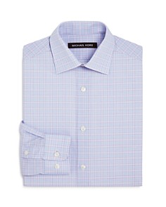 Michael Kors - Boys' Plaid Dress Shirt - Big Kid