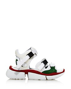Chloé - Women's Sonnie Mixed Media Sandal Sneakers