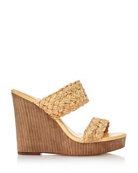 Charles David - Women's Tifa Raffia Wedge Sandals