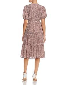 Tory Burch - Short-Sleeve Floral-Print Dress