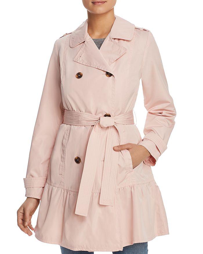 kate spade new york - Flounced Hem Trench Coat