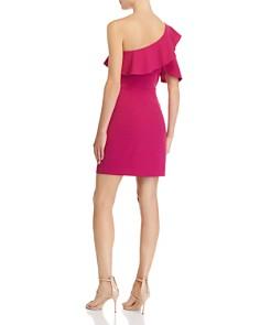 AQUA - One-Shoulder Ruffled Dress - 100% Exclusive
