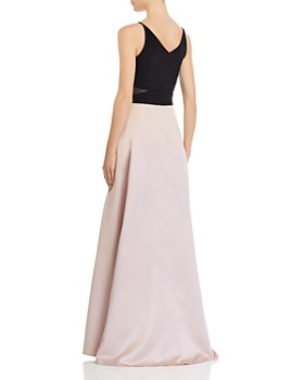 Avery G - Color-Block Gown