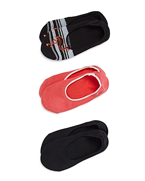 Hue Socks HIGH-CUT LINER SOCKS, SET OF 3