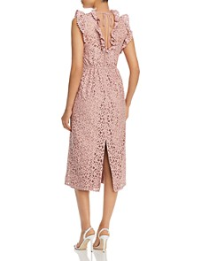 kate spade new york - Ruffled Lace Dress