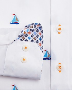 Robert Graham - Boys' Sail Away Dress Shirt - Big Kid