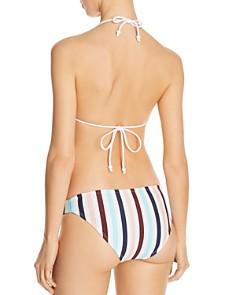 Shoshanna - Tie-Front Bikini Top