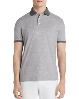 Dylan Gray - Contrast-Trimmed Piqué Classic Fit Polo Shirt - 100% Exclusive
