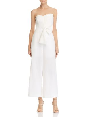 Love Light Strapless Jumpsuit   100 Percents Exclusive by Keepsake
