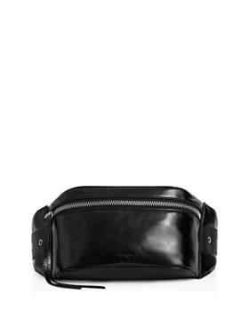 56a1aadaf0 ALLSAINTS - Clip Leather Belt Bag ...