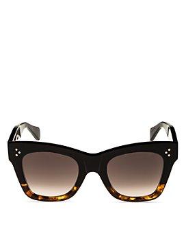 CELINE - Women's Cat Eye Sunglasses, 50mm