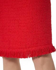 L.K.Bennett - Myia Fringed Tweed Skirt