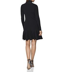 REISS - Mimi Turtleneck Mini Dress