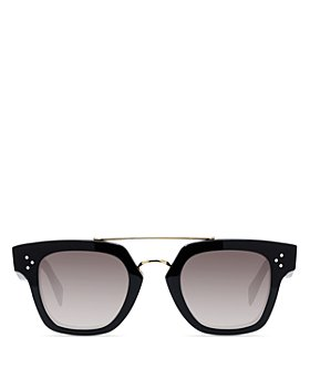 CELINE - Women's Brow Bar Square Sunglasses, 47mm