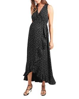 Ingrid & Isabel - Maternity Racerback Ruffle Maxi Dress