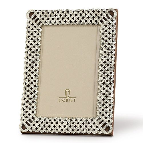 "L'Objet - ""Platinum Braid"" Frames"