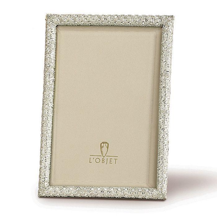 """L'Objet - """"Platinum White"""" Frames"""