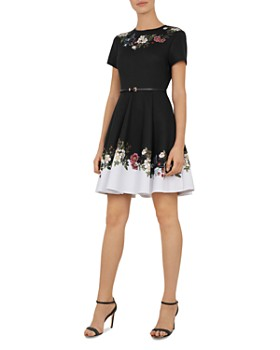 15bf21edfc8fa Ted Baker - Chestna Oracle Skater Dress ...