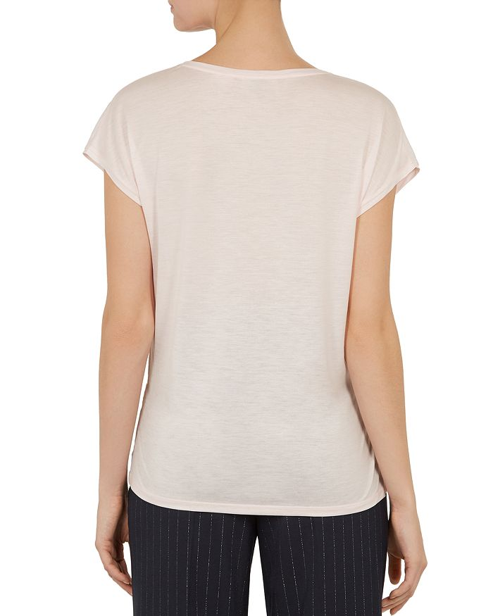 Front Baker Elegance Woven Ted Selmaa Bloomingdale's Tee w0I8Iqxf