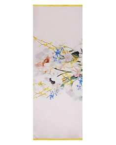 Ted Baker - Emellia Elegant Floral Silk Cape Scarf
