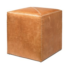 Jamie Young - Small Leather Ottoman