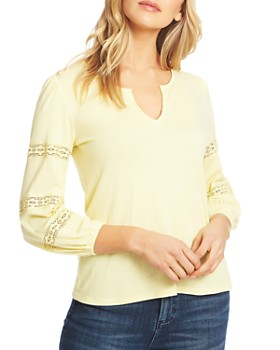 1.STATE - Crochet Inset Top