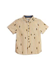 Sovereign Code - Boys' Genius Pineapple Button-Down Shirt - Little Kid, Big Kid