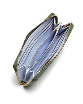 Tory Burch - Robinson Color-Block Zip Wallet