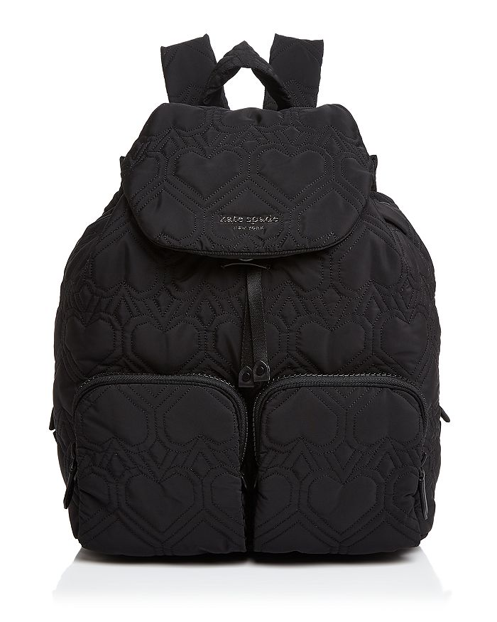 kate spade new york - Large Quilted Heart Backpack