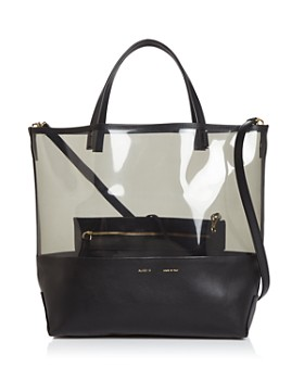 Alice.D - Medium Clear Tote