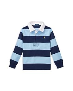 Ralph Lauren - Boys' Striped Cotton Rugby Shirt - Little Kid