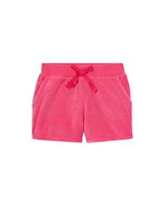 Ralph Lauren - Girls' Cotton-Blend Terry Shorts - Little Kid